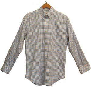 Peter Millar Men's Button Down Shirt Medium